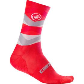 Castelli Fatto 12 Socks Unisex red